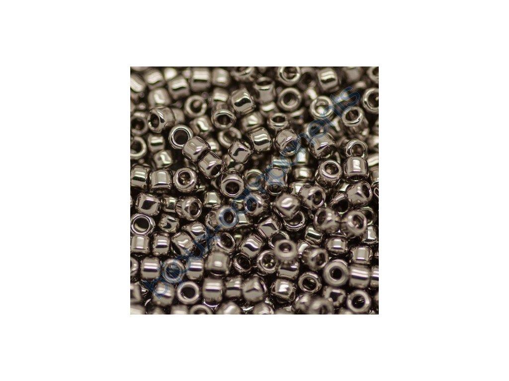 TOHO rokajl, Nickel, vel.2,2 mm, průtah 0,8 mm