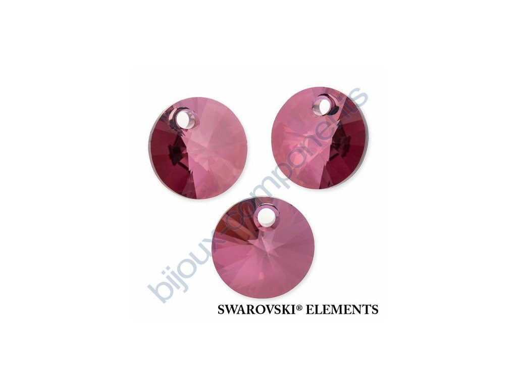 SWAROVSKI ELEMENTS přívěsek - XILION, crystal lilac shadow, 12mm