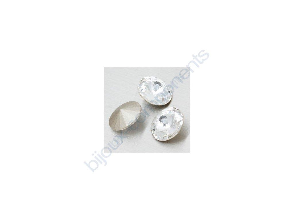 SWAROVSKI ELEMENTS kameny - Rivoli Chaton, crystal, 18mm