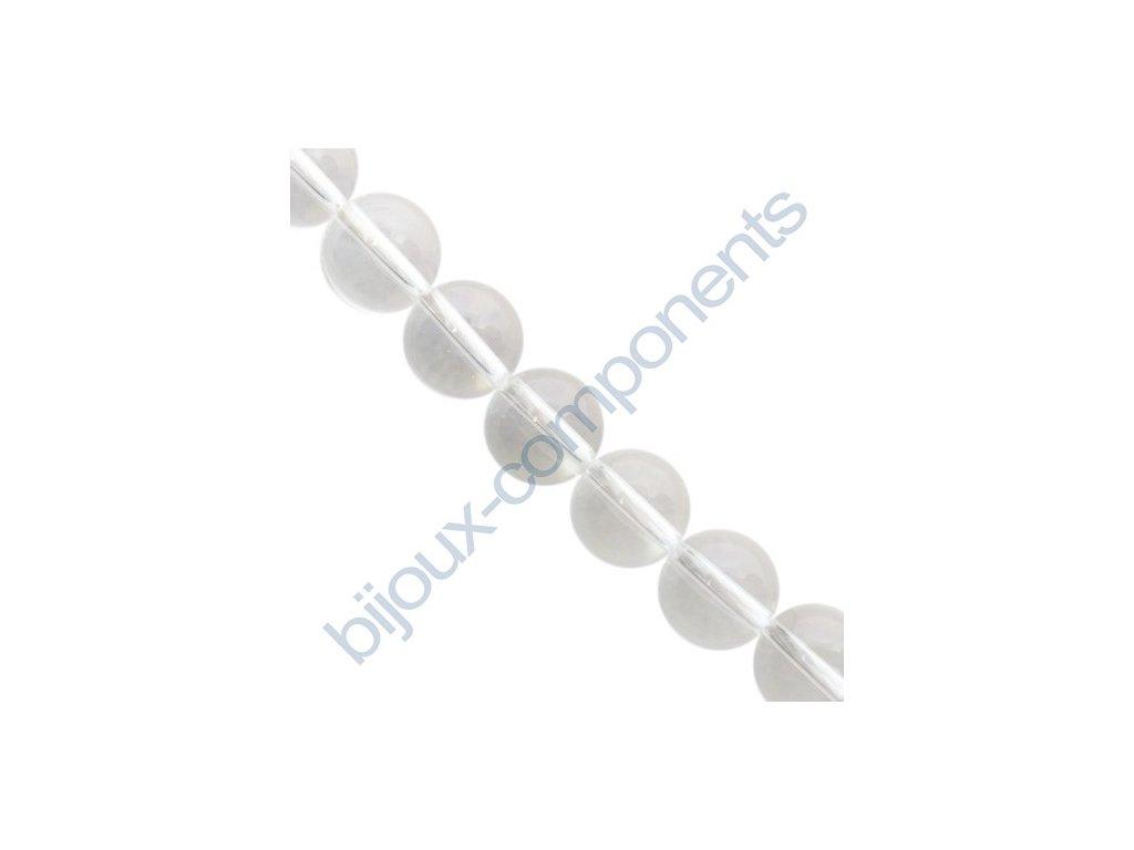 Polodrahokamové kuličky - Křišťál