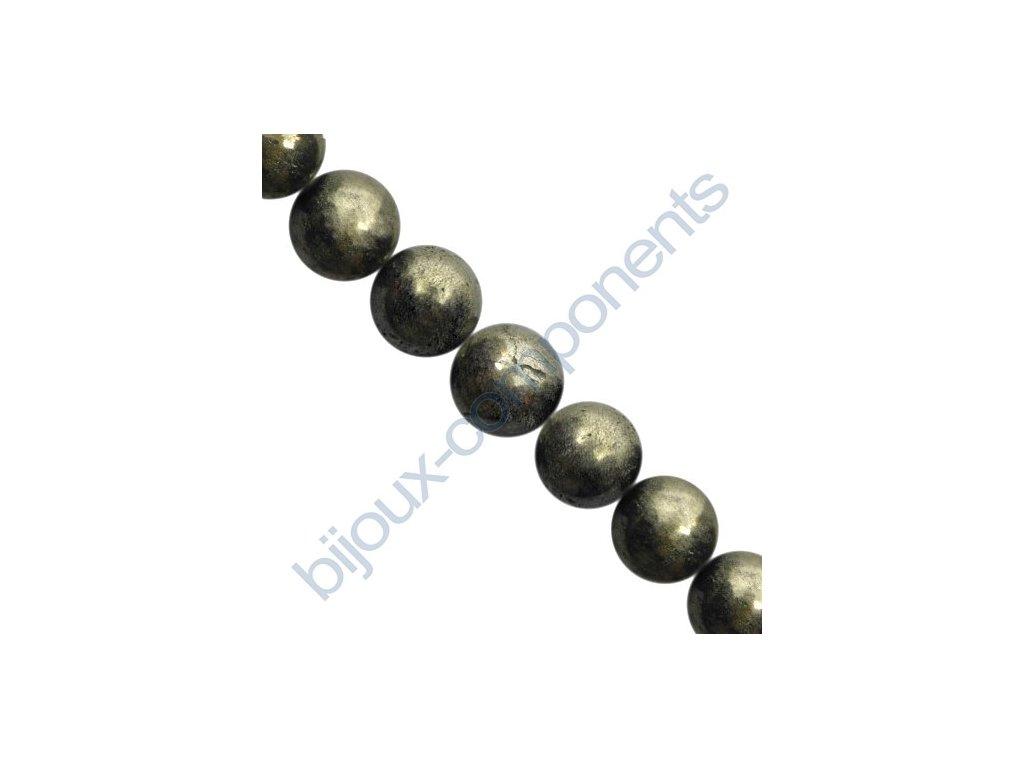 Polodrahokamové kuličky - Pyrit