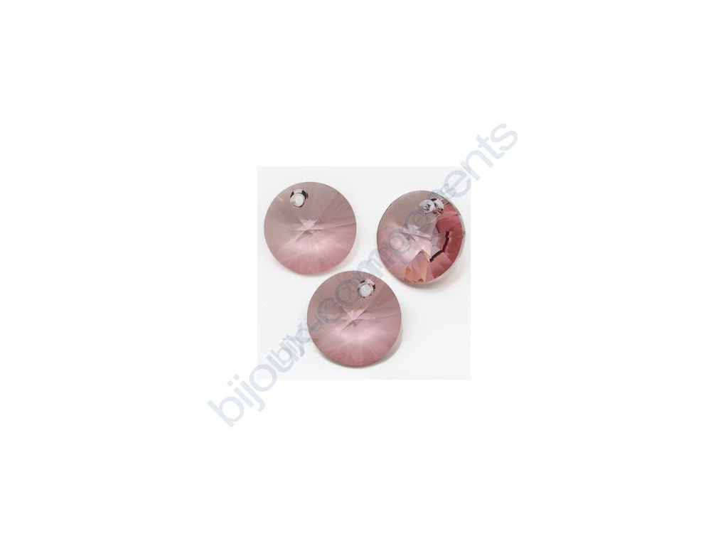 SWAROVSKI ELEMENTS přívěsek - XILION, crystal antique pink, 8mm