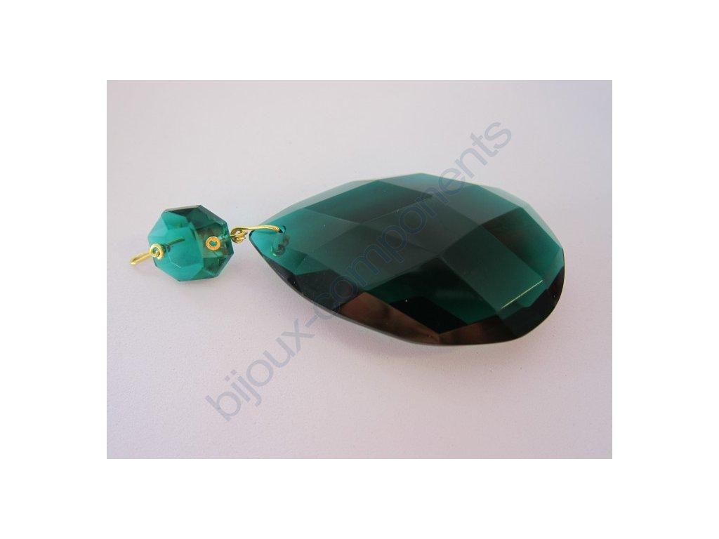 Vachtle s hlavičkou, emerald