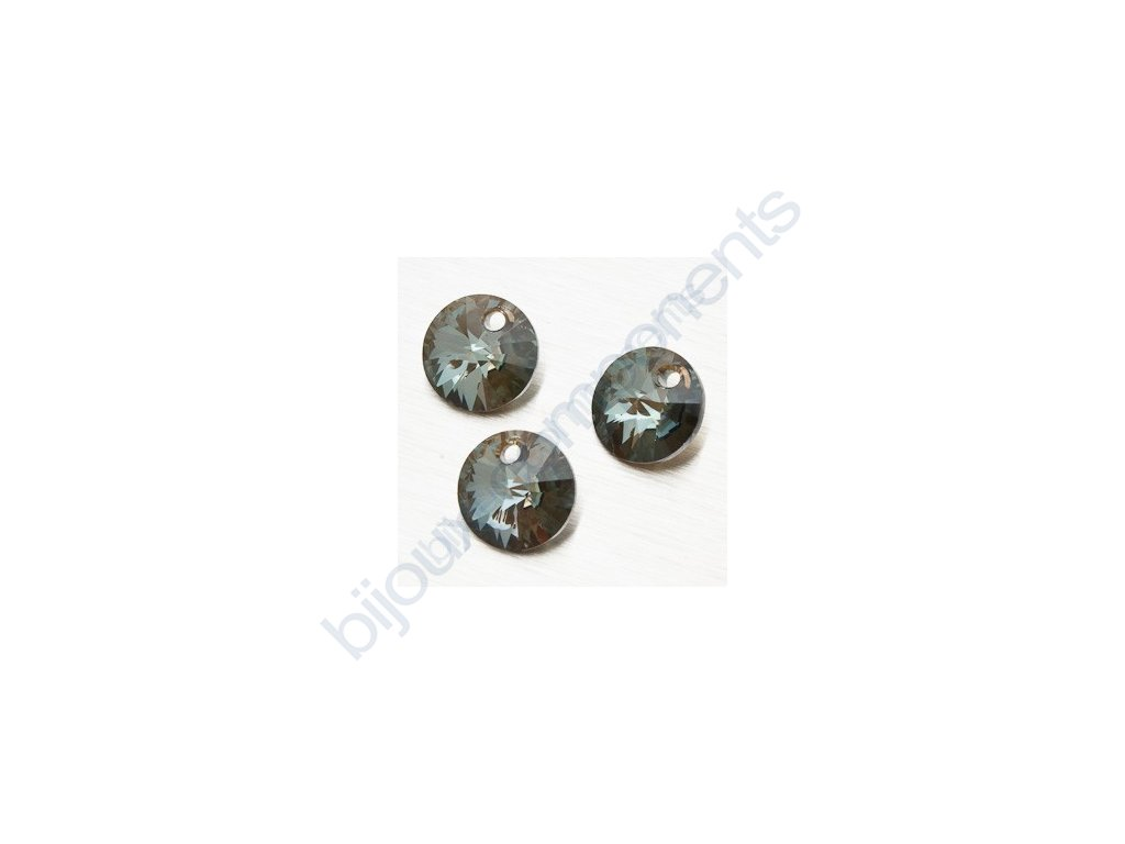 SWAROVSKI ELEMENTS přívěsek - XILION, crystal bronze shade, 8mm