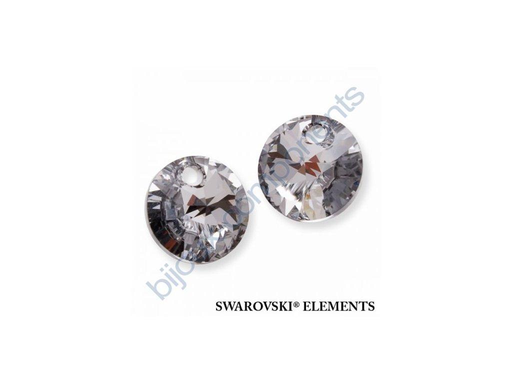 SWAROVSKI ELEMENTS přívěsek - XILION, crystal CAL, 8mm