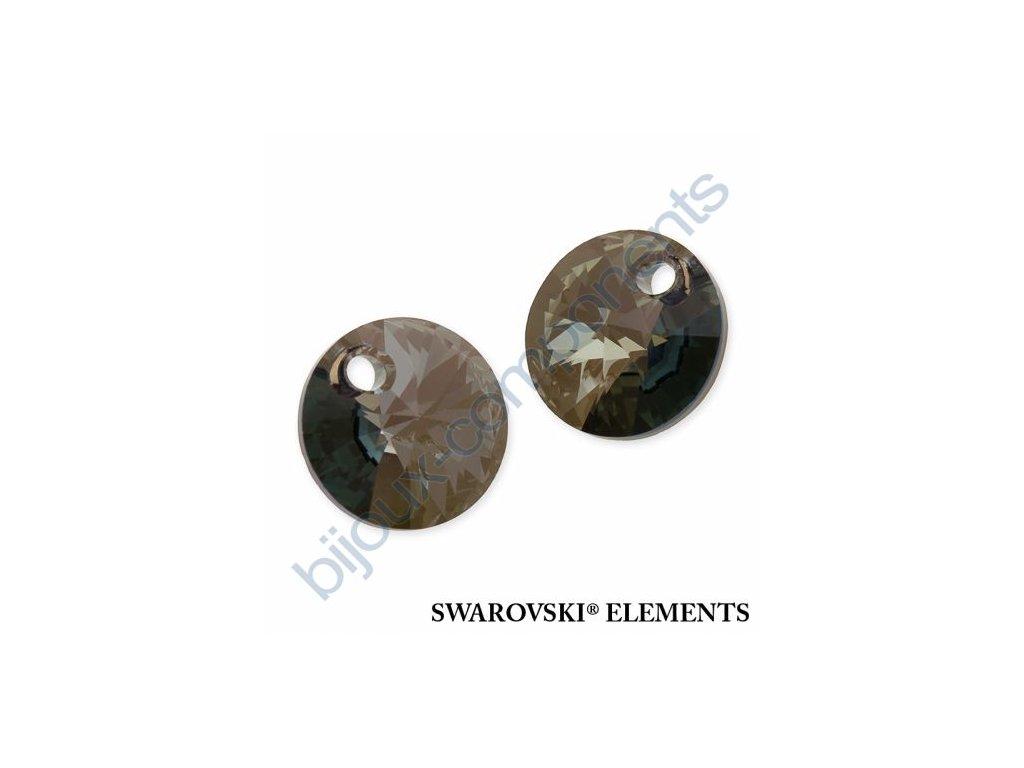 SWAROVSKI ELEMENTS přívěsek - XILION, crystal iridescent green, 8mm