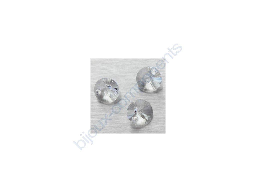 SWAROVSKI ELEMENTS přívěsek - XILION, crystal, 8mm