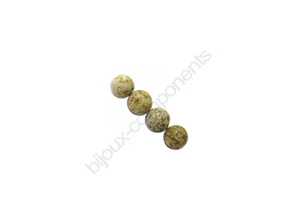 Polodrahokamové kuličky - picure jasper