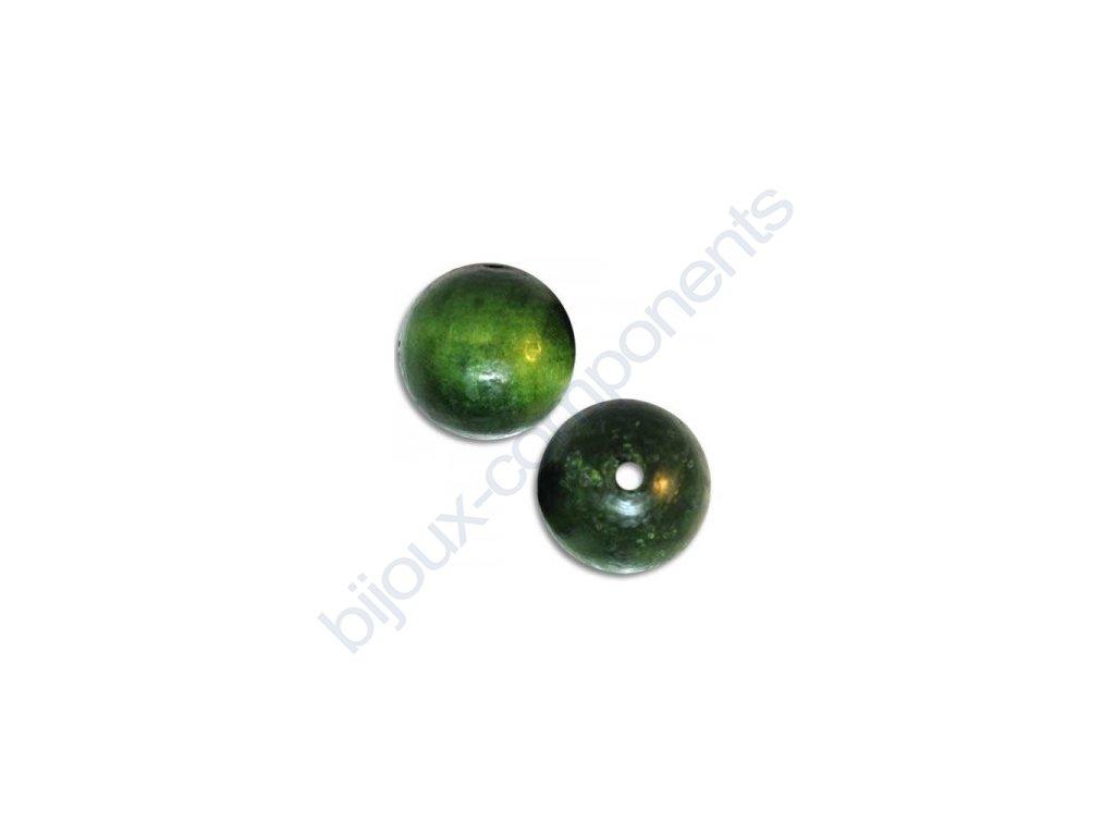 Dřevěné perle - kulička