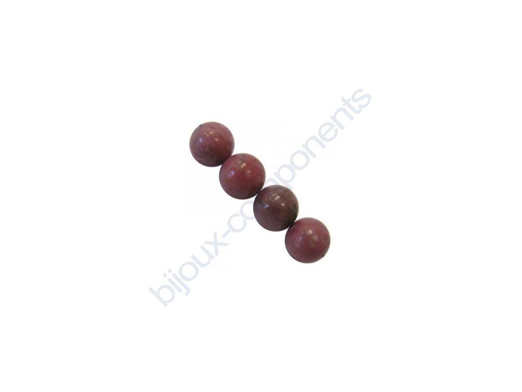 Polodrahokamové kuličky - rhodonite