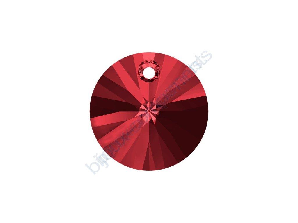SWAROVSKI CRYSTALS přívěsek - XILION, scarlet, 8mm
