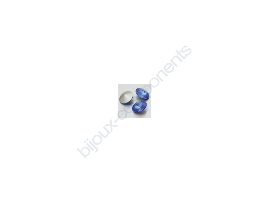 swarovski elements kameny - rivoli chaton, sapphire, 18mm