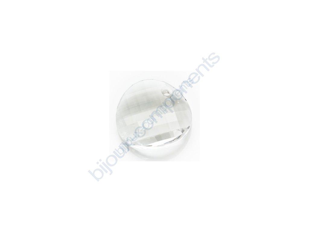 SWAROVSKI ELEMENTS přívěsek - Twist, crystal, 18mm