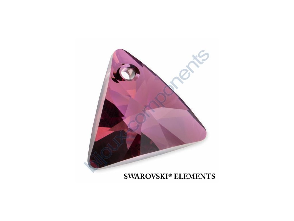 SWAROVSKI ELEMENTS přívěsek - XILION trojúhelník, crystal lilac shadow, 16mm