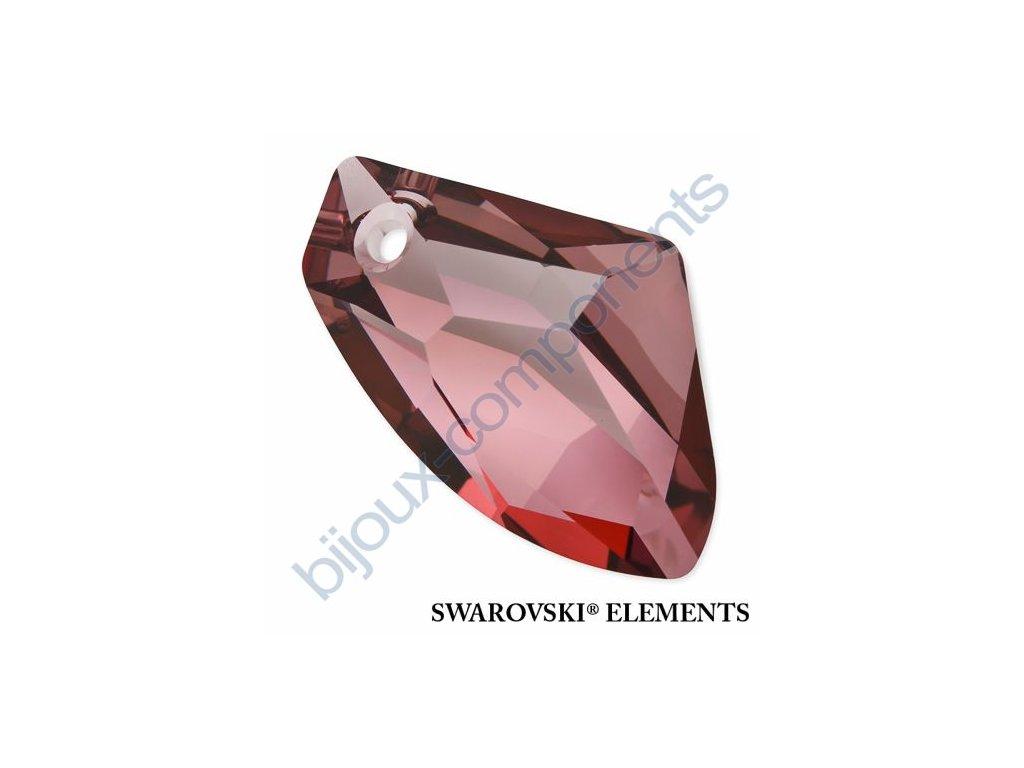 SWAROVSKI ELEMENTS přívěsek - Galactic Vertical, crystal antique pink, 27mm