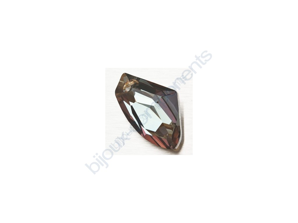 SWAROVSKI ELEMENTS přívěsek - Galactic Vertical, crystal bronze shade, 27mm
