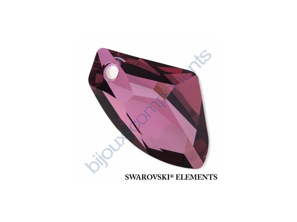 SWAROVSKI ELEMENTS přívěsek - Galactic Vertical, crystal lilac shadow, 27mm