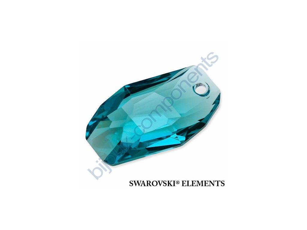 SWAROVSKI ELEMENTS přívěsek - Meteor, light turquoise, 28mm
