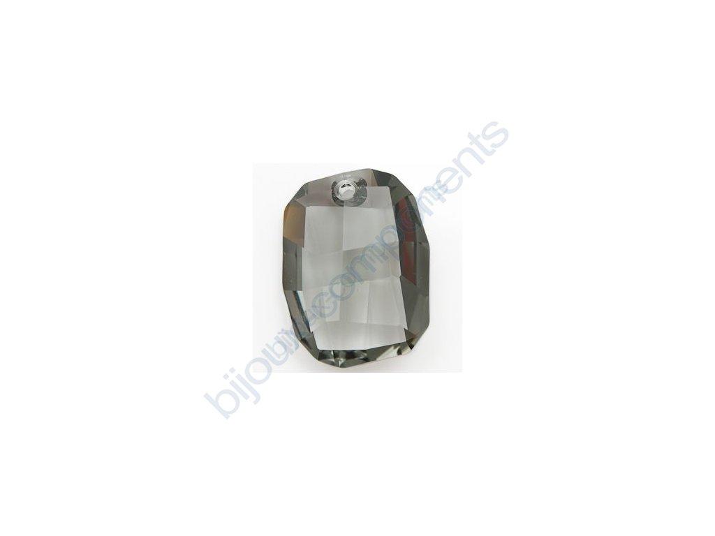 SWAROVSKI ELEMENTS přívěsek - Graphic, black diamond, 19mm