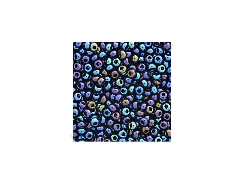 PRECIOSA rokajl - modrý iris, 8/0 cca 3mm