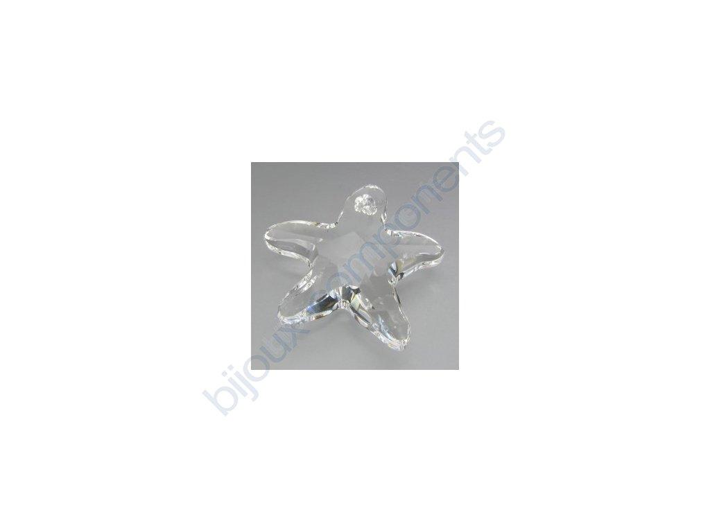 SWAROVSKI ELEMENTS přívěsek - mořská hvězda, crystal, 20mm