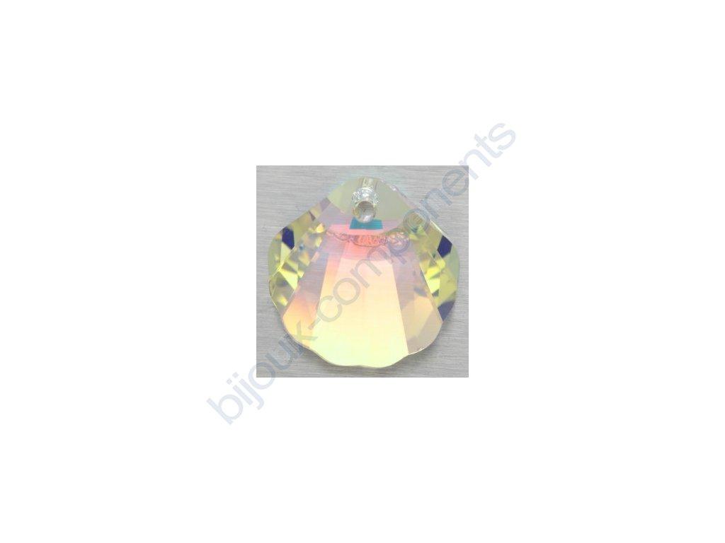 SWAROVSKI ELEMENTS přívěsek - Mušle, crystal AB, 16mm