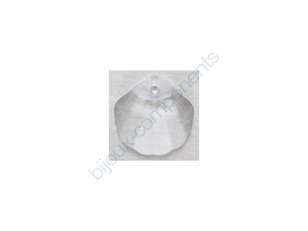 SWAROVSKI ELEMENTS přívěsek - Mušle, crystal, 16mm