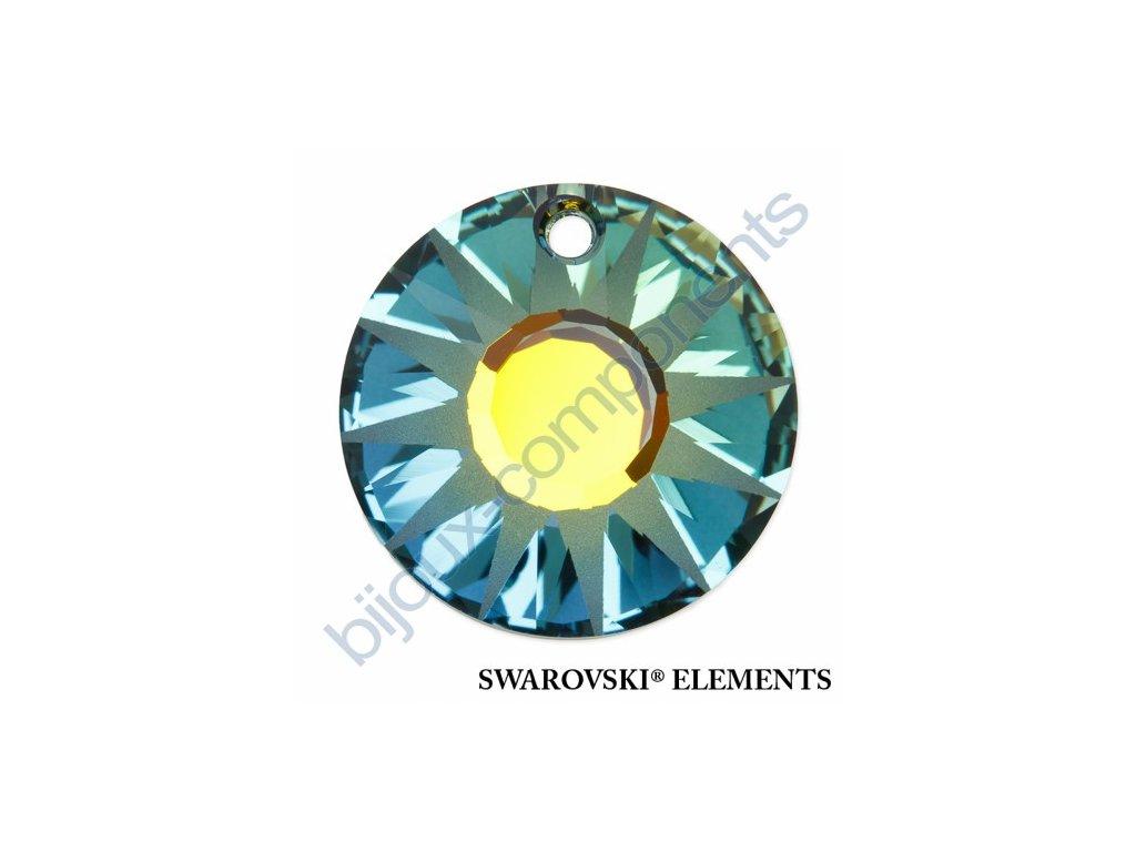 SWAROVSKI ELEMENTS přívěsek - Sun, crystal sahara P, 19mm