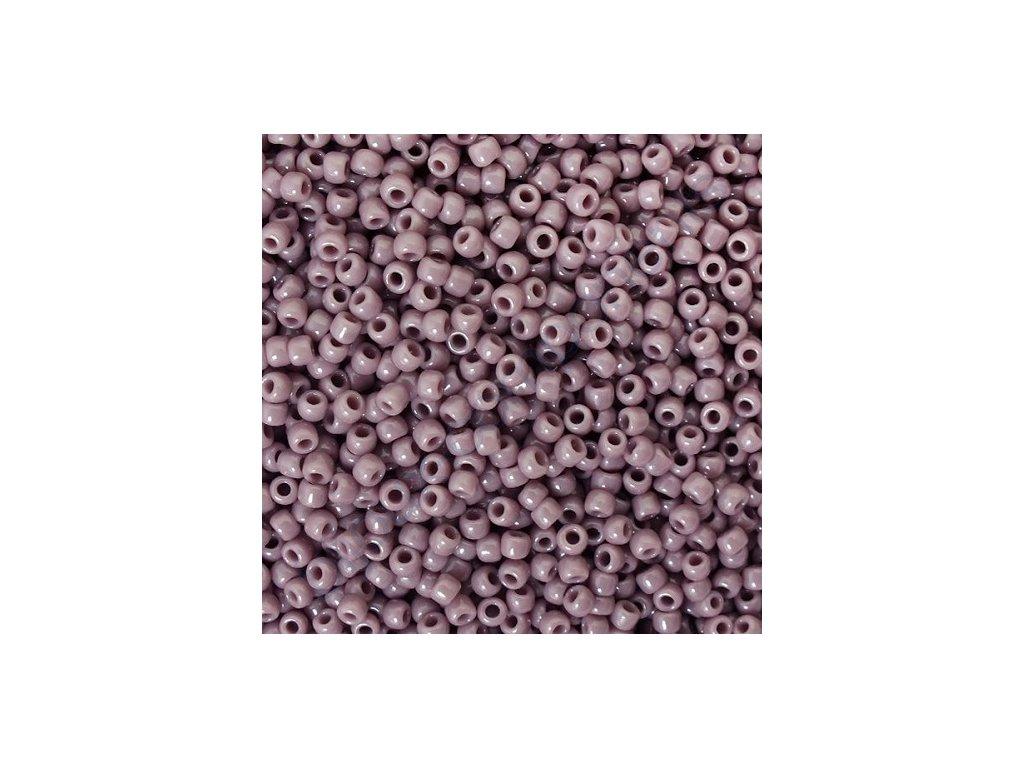 TOHO rokajl, Opaque Lavender, vel.3,1 mm, průtah 1,3 mm