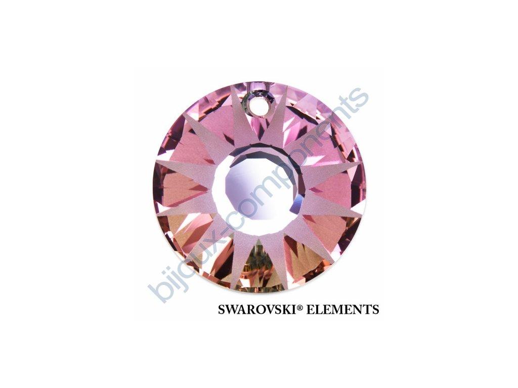 SWAROVSKI ELEMENTS přívěsek - Sun, crystal vitrail light P, 33mm