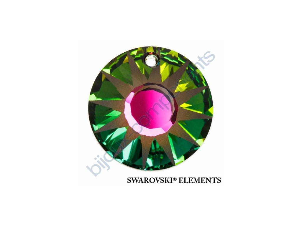 SWAROVSKI ELEMENTS přívěsek - Sun, crystal vitrail medium P, 33mm