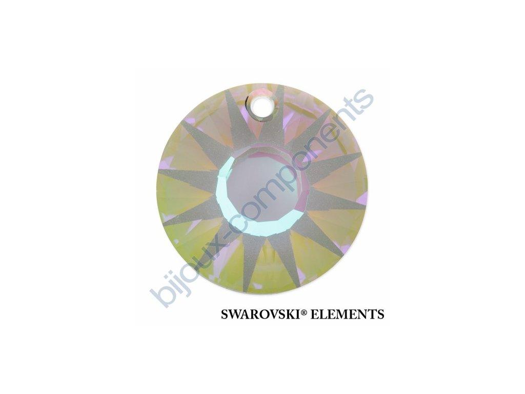 SWAROVSKI ELEMENTS přívěsek - Sun, crystal paradise shine V, 12mm