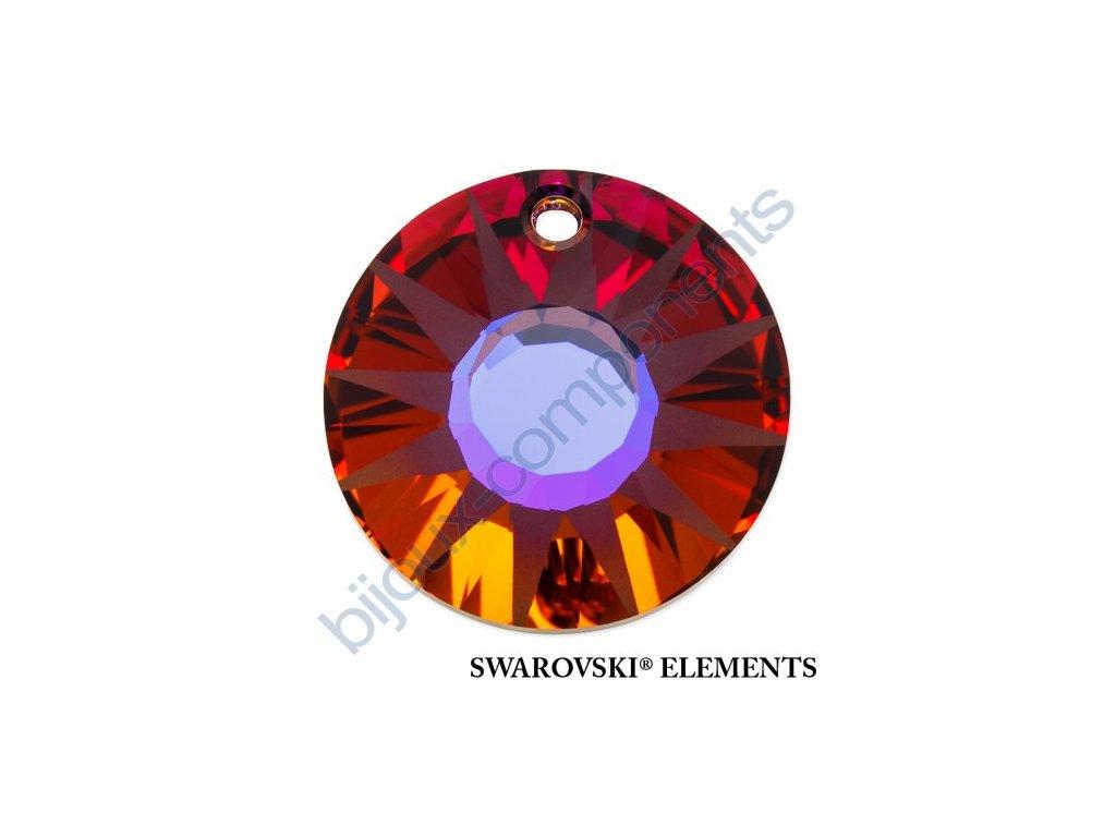 SWAROVSKI ELEMENTS přívěsek - Sun, crystal volcano P, 12mm