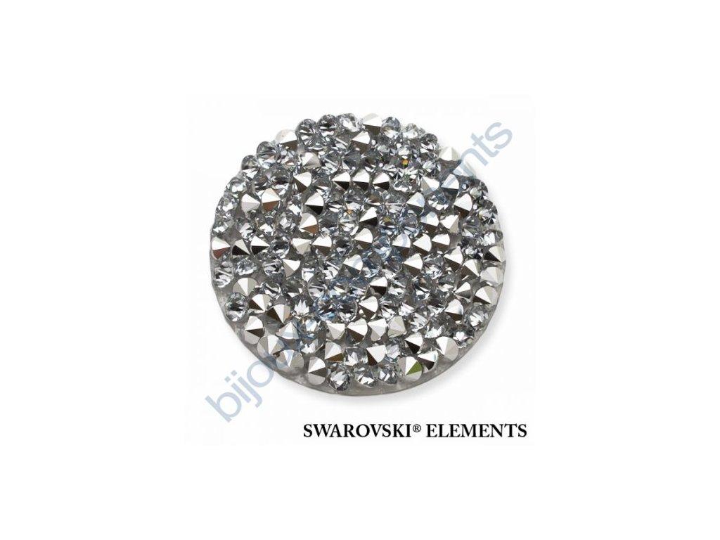 SWAROVSKI ELEMENTS - Crystal rocks, transparentní, crystal CAL, 30mm