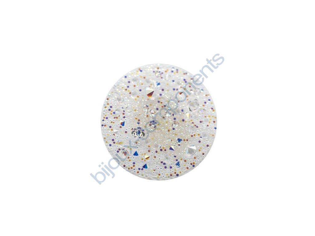 SWAROVSKI CRYSTALS - Crystal Medley, transparentní, crystal AB, 30mm