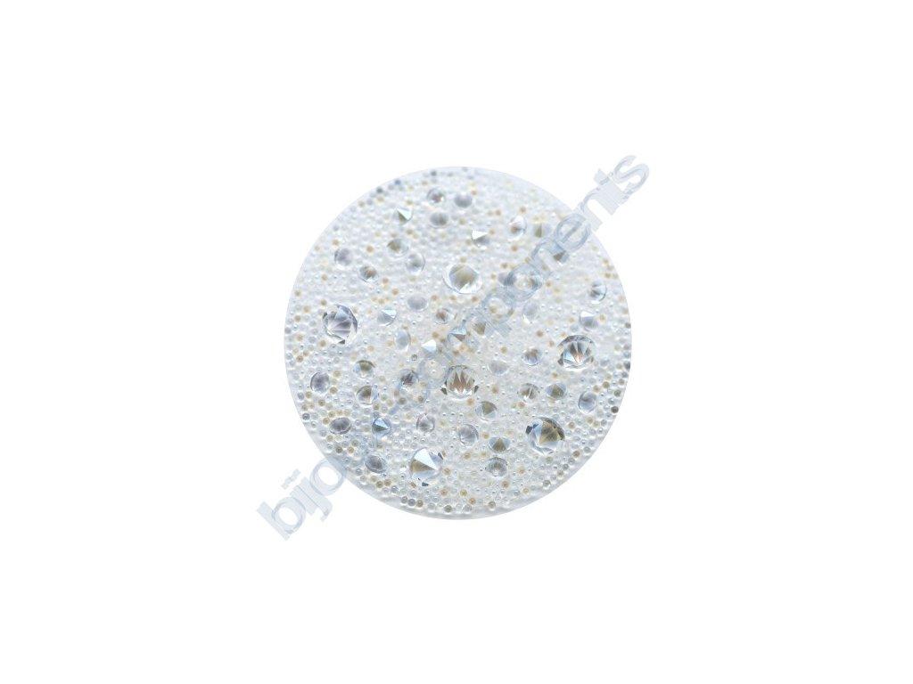 SWAROVSKI CRYSTALS - Crystal Medley, transparentní, crystal moonlight, 30mm