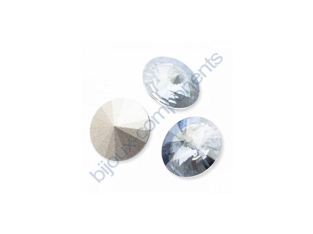 SWAROVSKI ELEMENTS kameny - Rivoli Chaton, crystal blue shade, 14mm