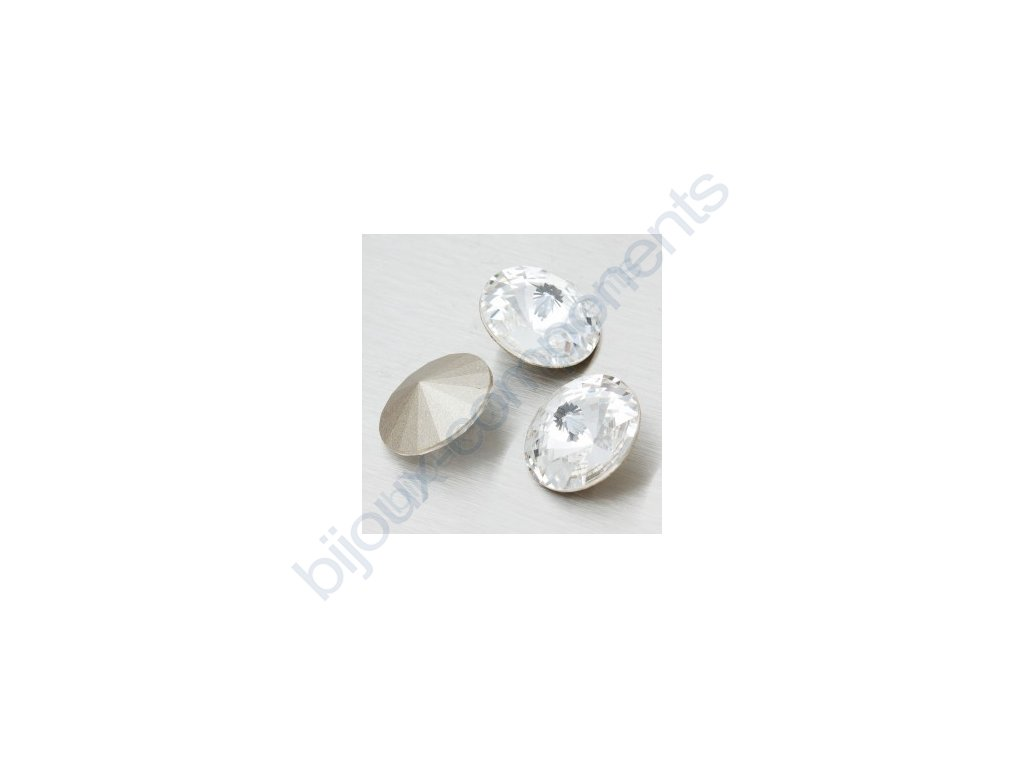 SWAROVSKI ELEMENTS kameny - Rivoli Chaton, crystal, 14mm