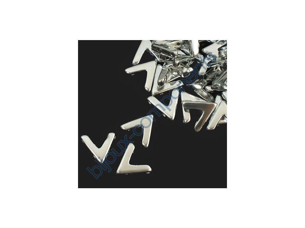 AVA beads, Crystal Labrador Full, 10x5mm, 2ks