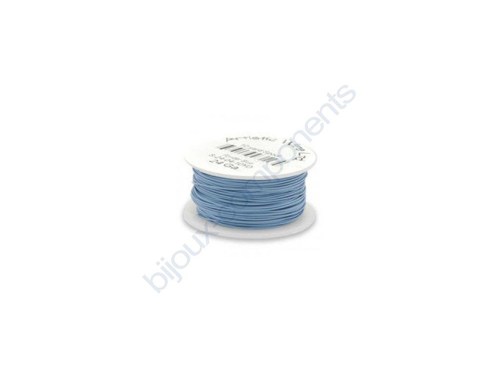 Umělecký barevný drát - modrý