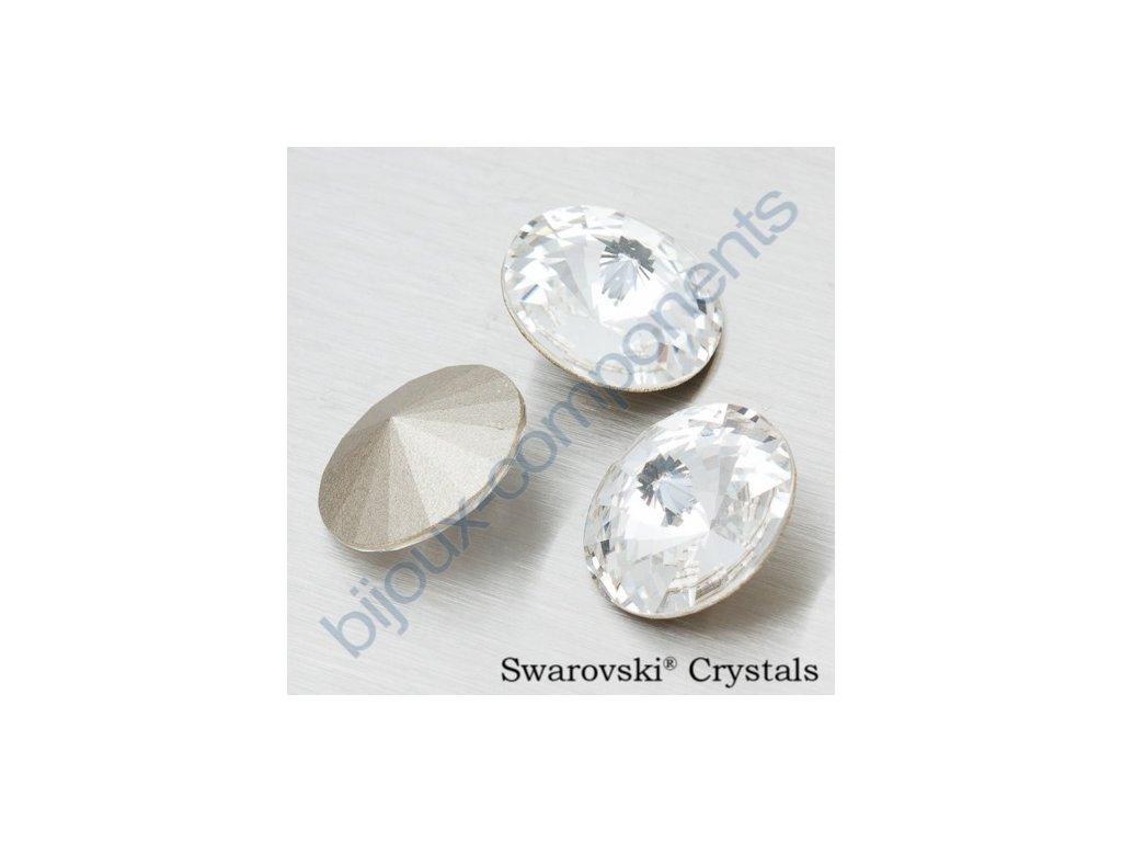 SWAROVSKI ELEMENTS kameny - Rivoli Chaton, crystal F, SS47 (cca 10mm)