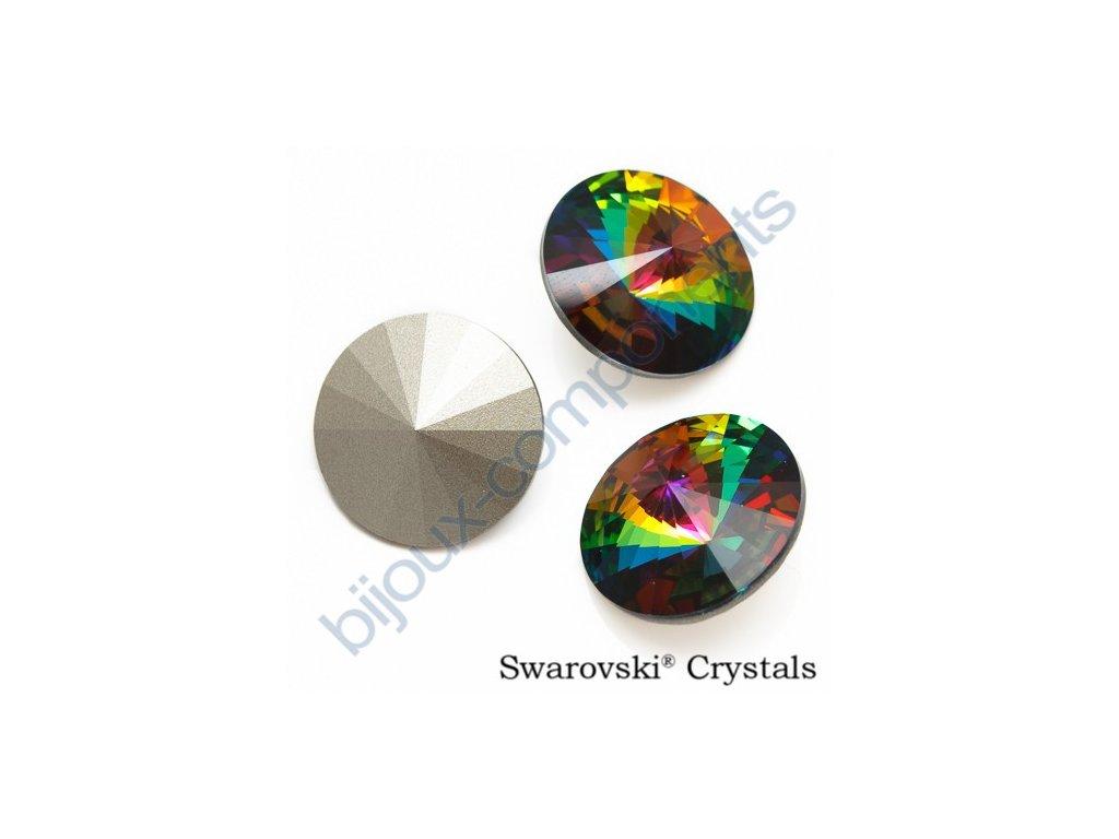 SWAROVSKI ELEMENTS kameny - Rivoli Chaton, crystal VM F, SS47 (cca 10mm)