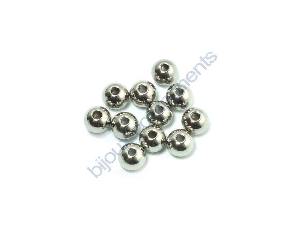 Kulička hladká, cca 6mm, průtah cca 1,5mm