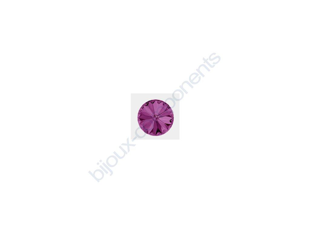 SWAROVSKI ELEMENTS kameny - Rivoli Chaton, amethyst F, SS29 (cca 6mm)