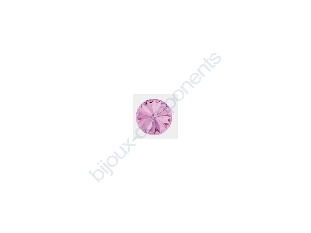 SWAROVSKI ELEMENTS kameny - Rivoli Chaton, light amethyst F, SS29 (cca 6mm)
