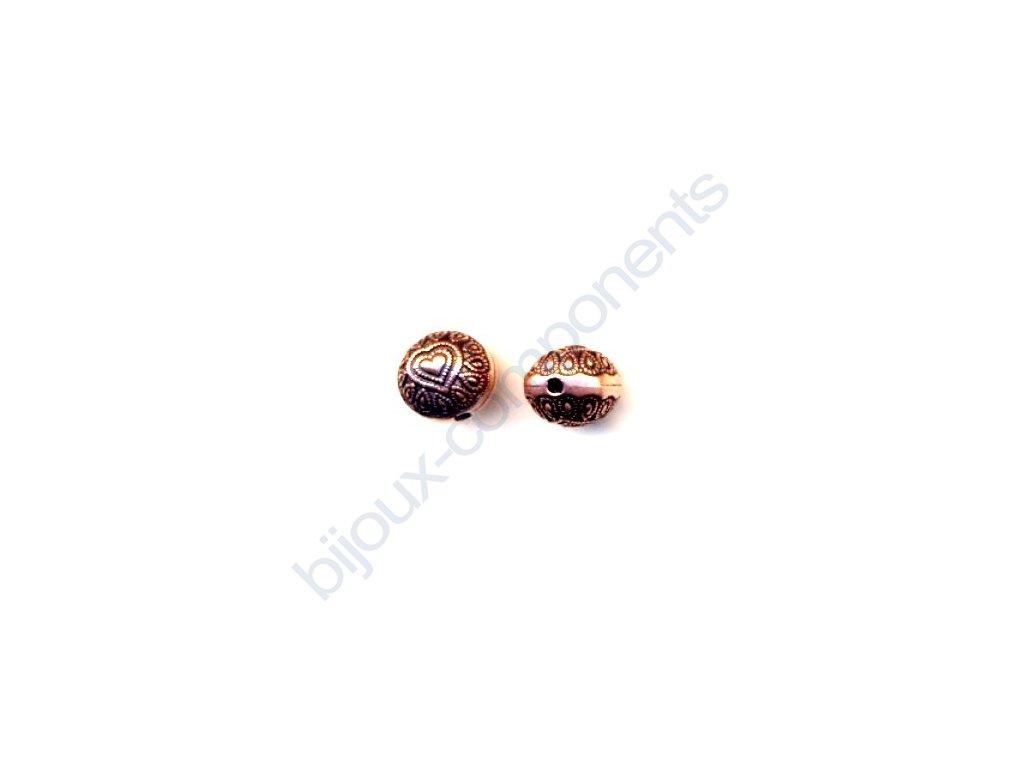 Akrylové korálky - 10 mm