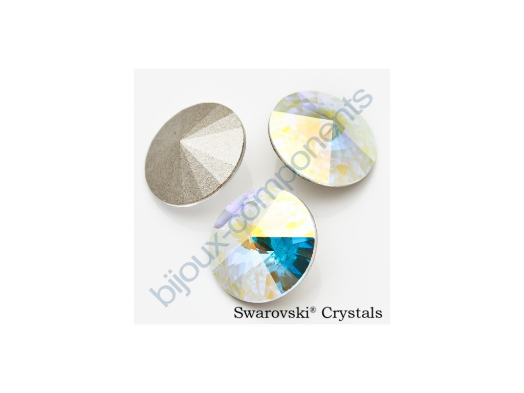 SWAROVSKI ELEMENTS kameny - Rivoli Chaton, crystal AB F, SS39 (cca 8mm)