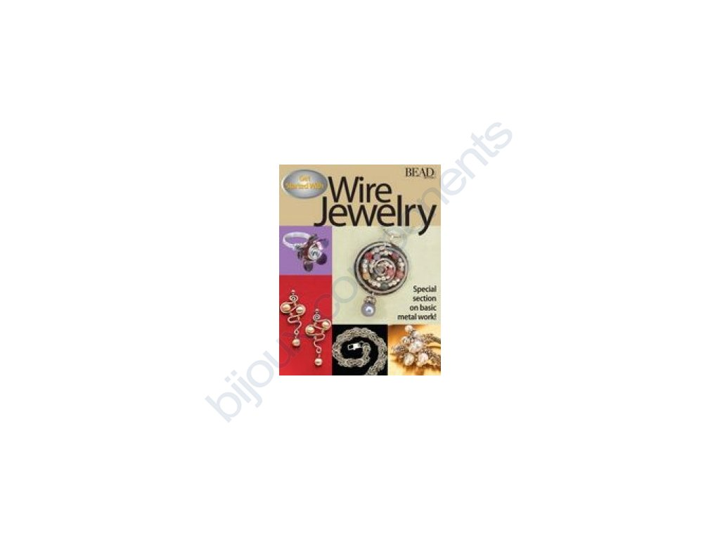 Get started with wire jewelry book