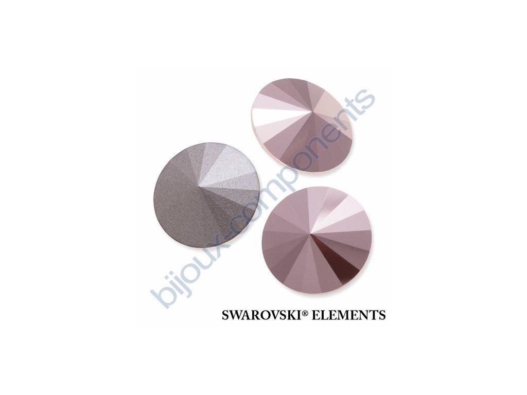 SWAROVSKI ELEMENTS kameny - Rivoli Chaton, crystal rose gold F, SS39 (cca 8mm)