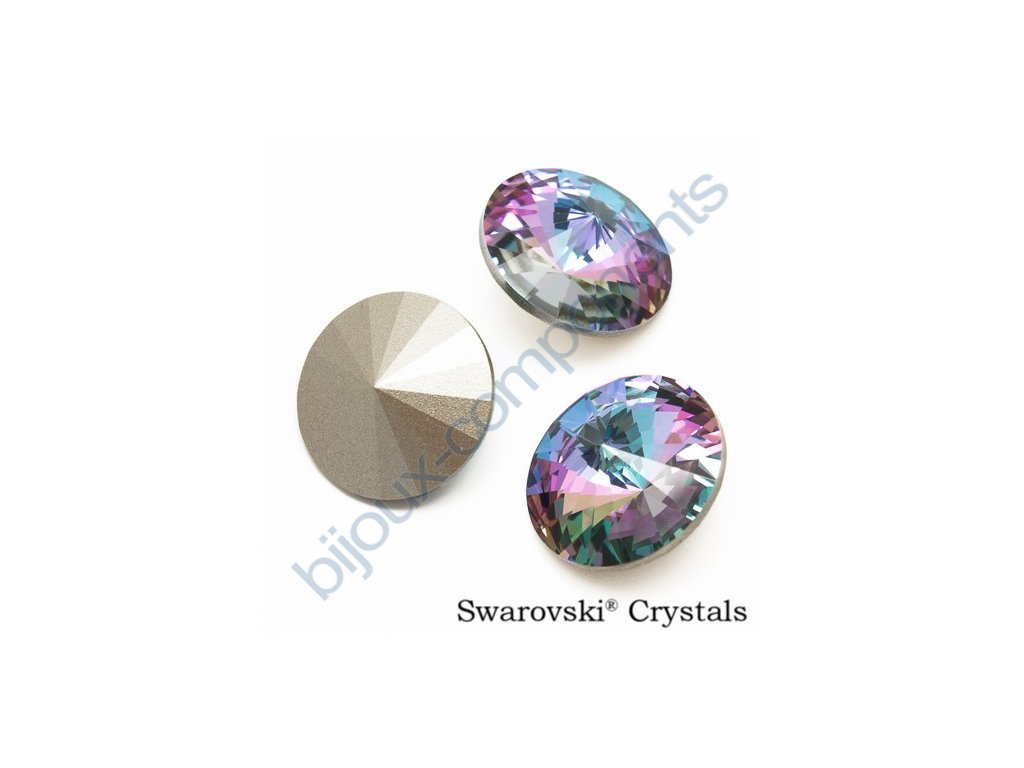 SWAROVSKI ELEMENTS kameny - Rivoli Chaton, crystal vitrail light F, SS39 (cca 8mm)